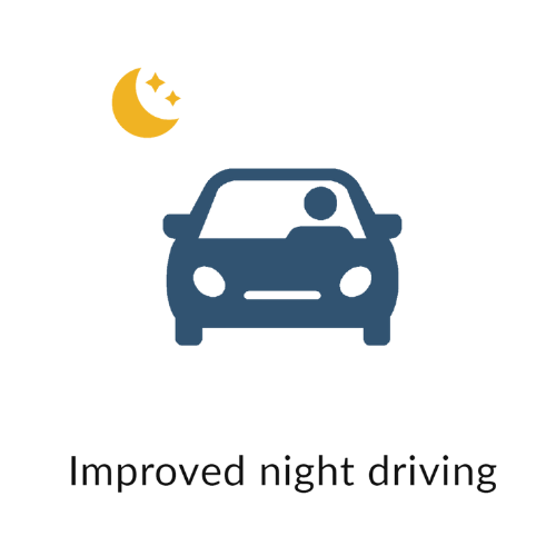 Improved night driving